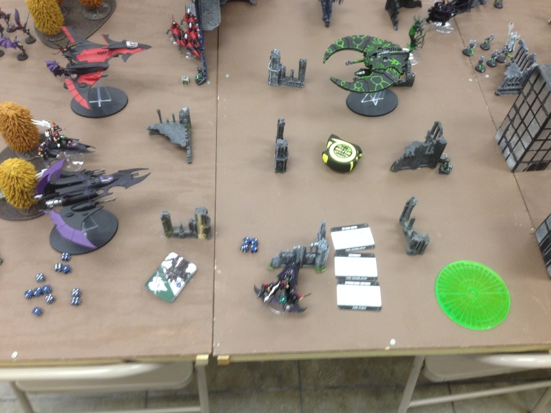 Two 1500 games vs Necron (one with transcendent c'tan) 2014-115