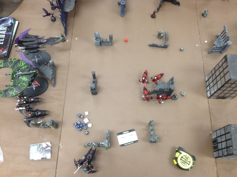 Two 1500 games vs Necron (one with transcendent c'tan) 2014-116
