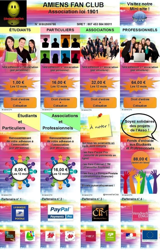 @AmiensFanClub - Adhésion en ligne à l'association AMIENS FAN CLUB Montag22