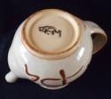 Slip Ware Teapot Marked JEM or TEM - James Mounter Callander?  Dscf2312