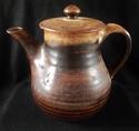 Stoneware Tea Pot Marked PT '81 Dscf2313