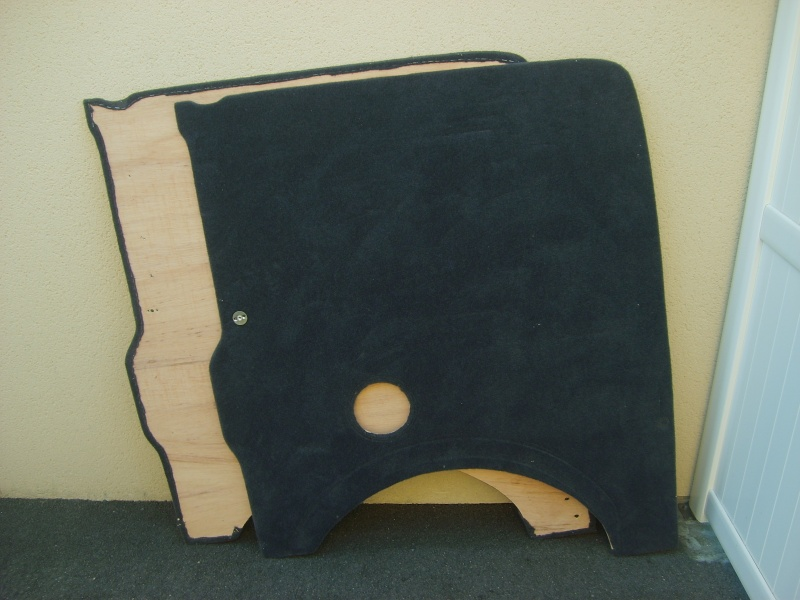 (vendues) Parois latérales arrières feutrées  S6002210