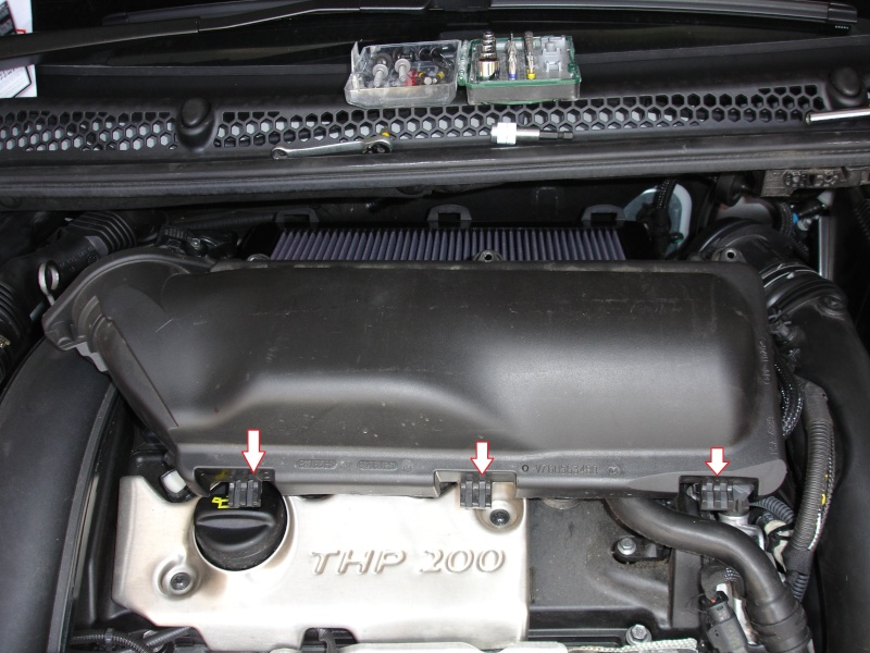 filtre à air - Changement Filtre à air THP 200 410