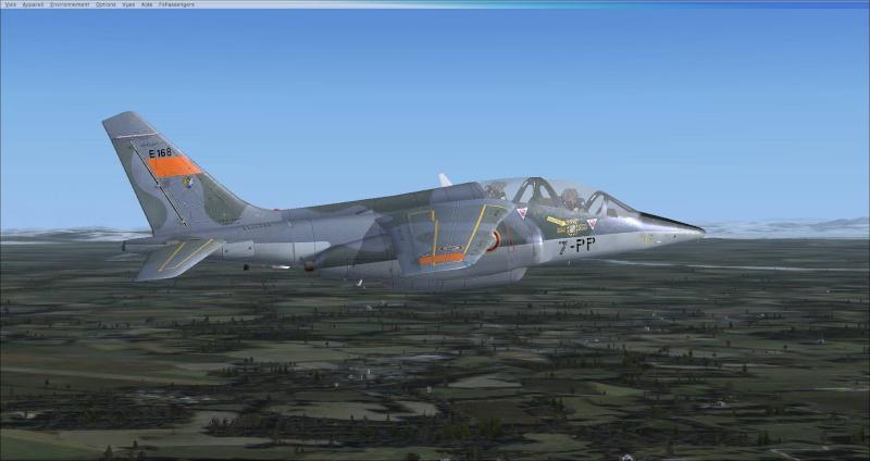 Vol en Alphajet 2014-110