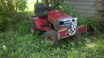 Rhino my murray widebody lt1000 mud mower 01010