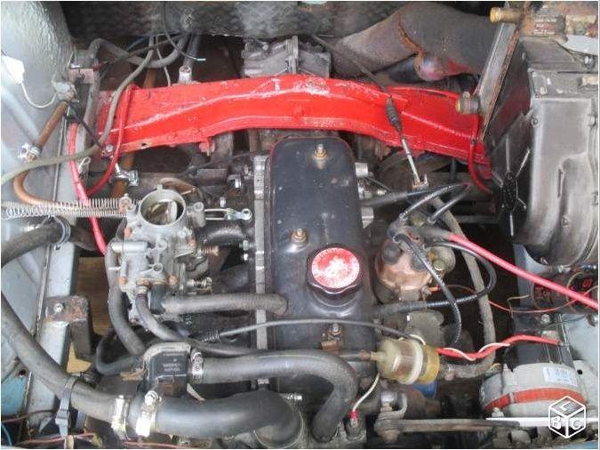 Moteur 1400 dauphine R8 gordini proto Moteur10