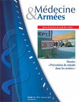 Suicides dans les armées et la gendarmerie française - Un point de situation en 2014 1re-de10