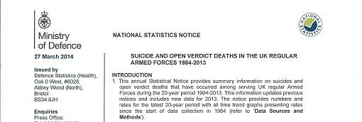Les Suicides dans les armées occidentales – Éléments de comparaison en 2014 Couv_d10