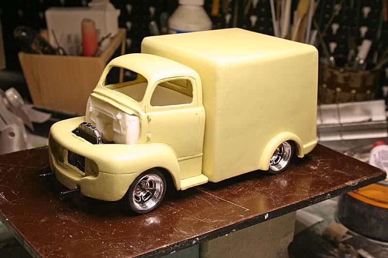"""FORD 1948 COE """"box van"""" : Terminé !!!! Img_8927"""