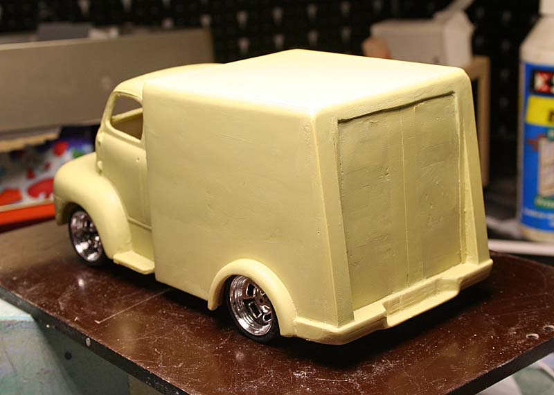"""FORD 1948 COE """"box van"""" : Terminé !!!! Img_8929"""