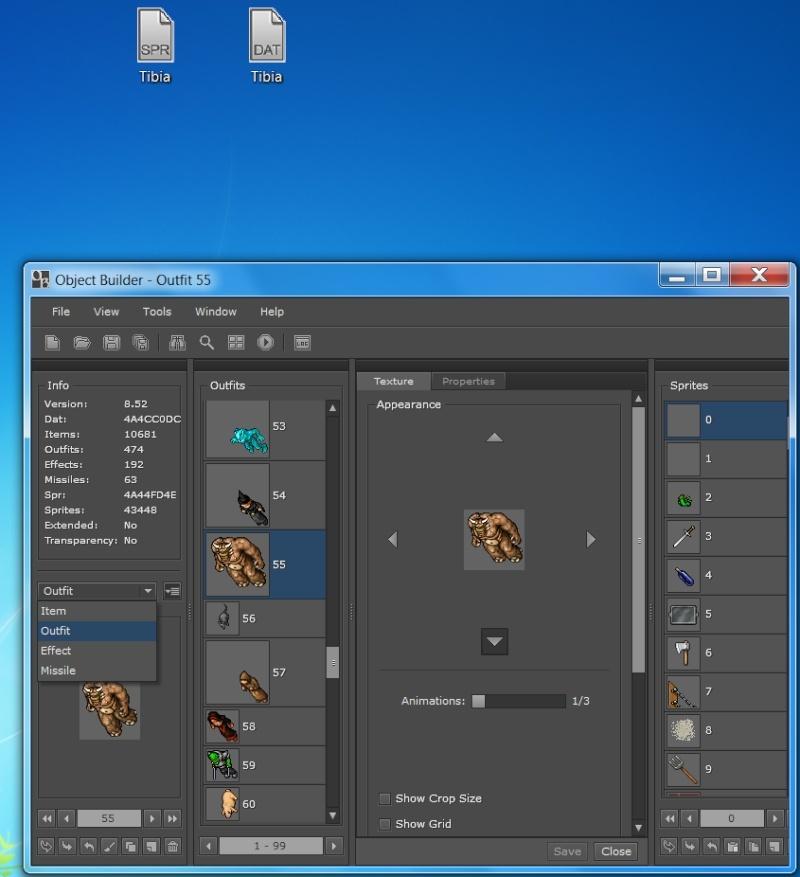 [8.00 - 10.35] ObjectBuilder editor de spr y dat Objet_10