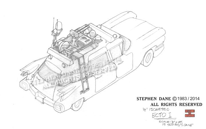 Ecto 1 , créé par Stephen Dane Ecto1d11