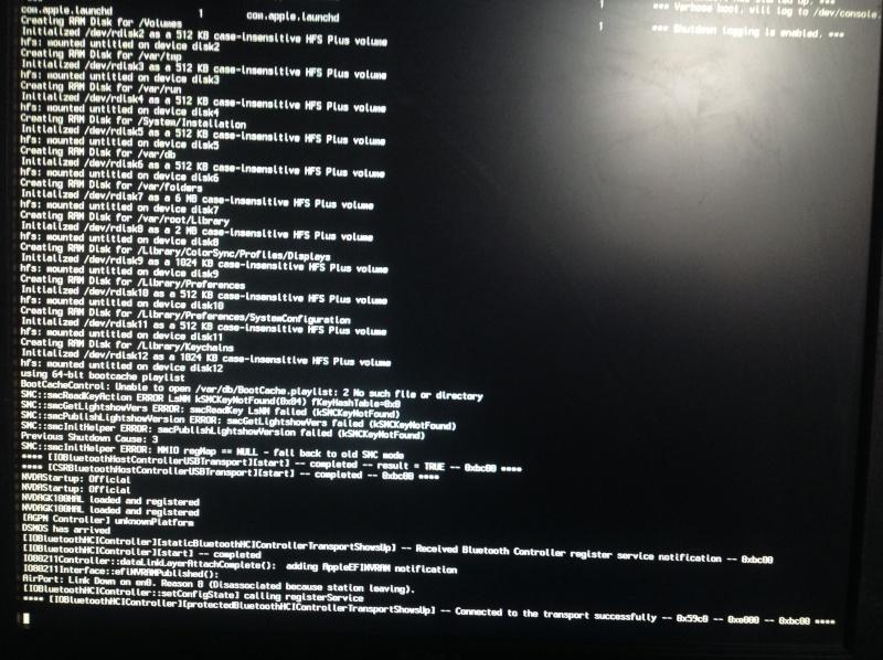pas d'affichage écran Img_0011