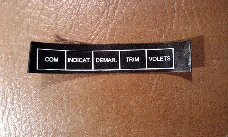 Quelles étiquettes pour votre tableau de bord? Etique13