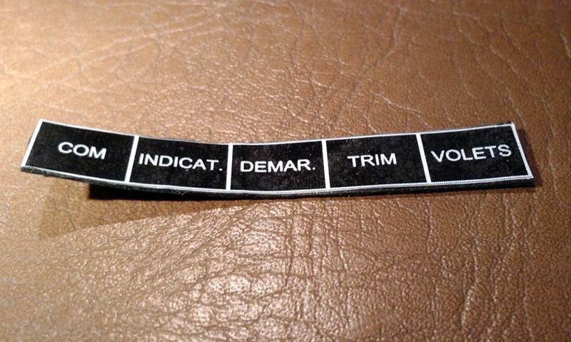 Quelles étiquettes pour votre tableau de bord? Etique14