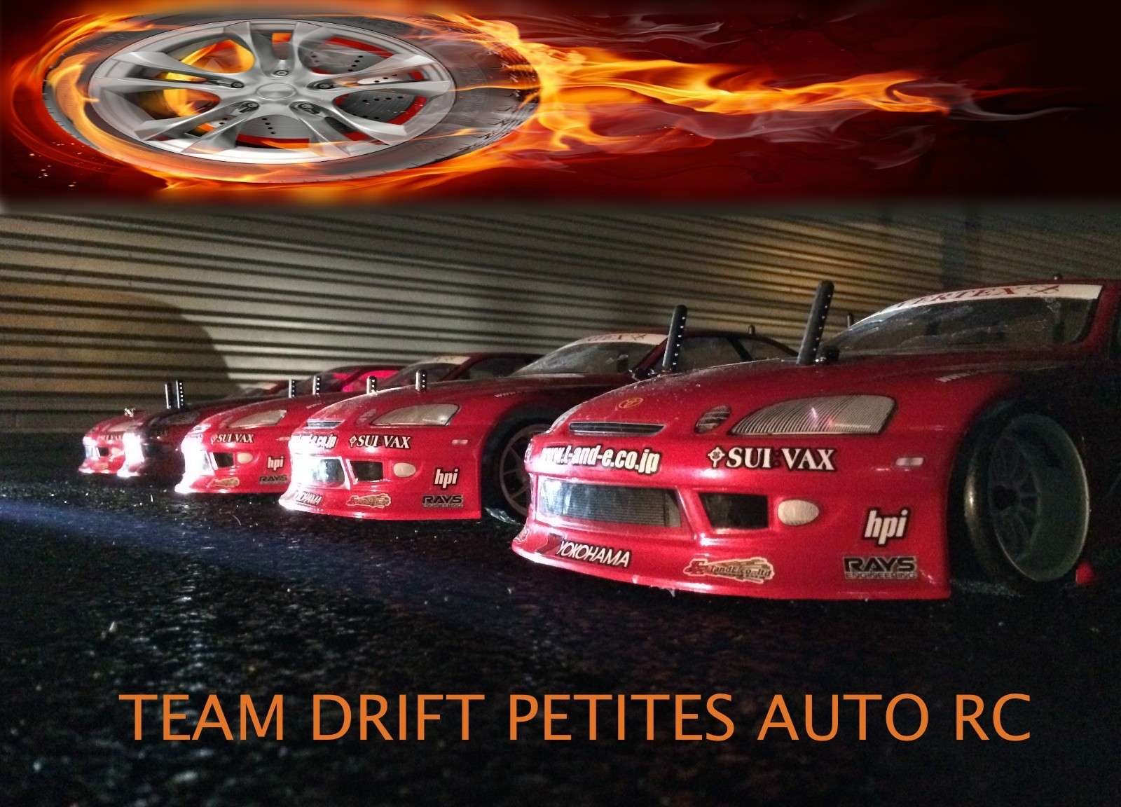 TEAM DRIFT PETITES AUTOS RC