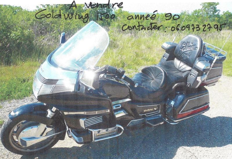 Vente HONDA Goldwing Moto_g18