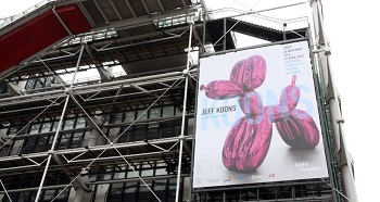@VendrediEtMoi #VendrediEtMoi #CommunityManager : #Records pour l' #exposition de #JeffKoons au #CentrePompidou 10763810