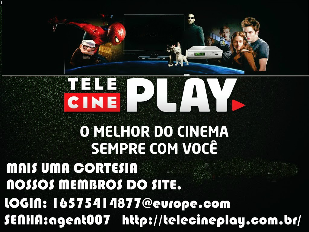 TELECINE PLAY GRATIS SÓ AQUI azboxworld Playtv10