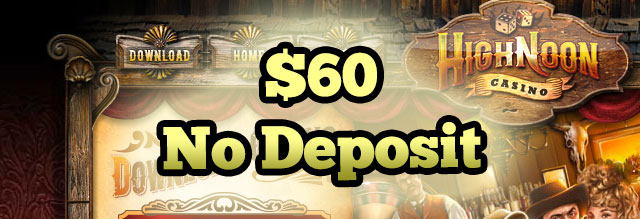 High Noon Casino 60$ free