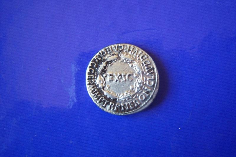 Denier Néron Agrippine la jeune,drapée(Faux d'époque) 123_5416