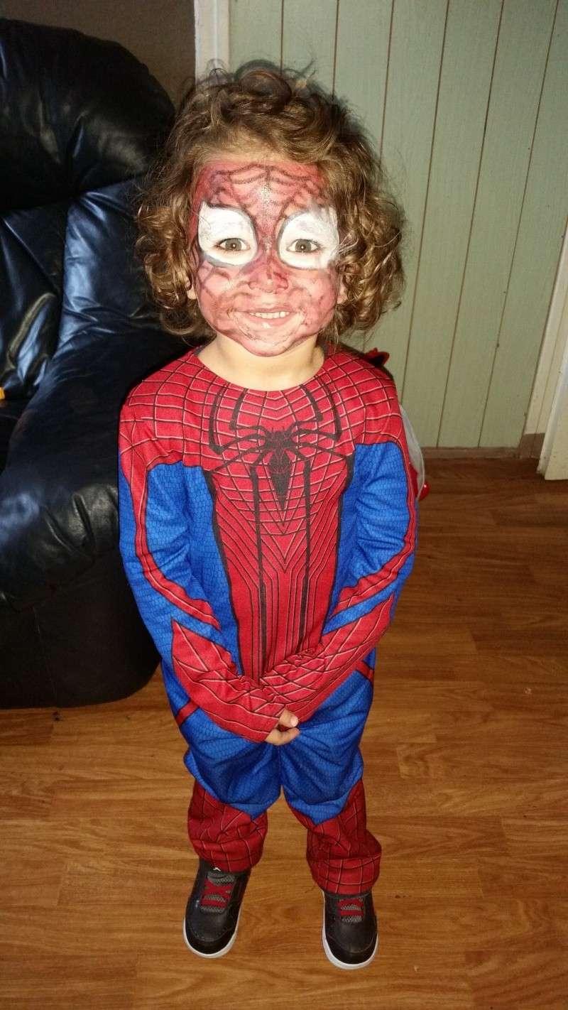 Demande montage pour invitation spiderman 20141010
