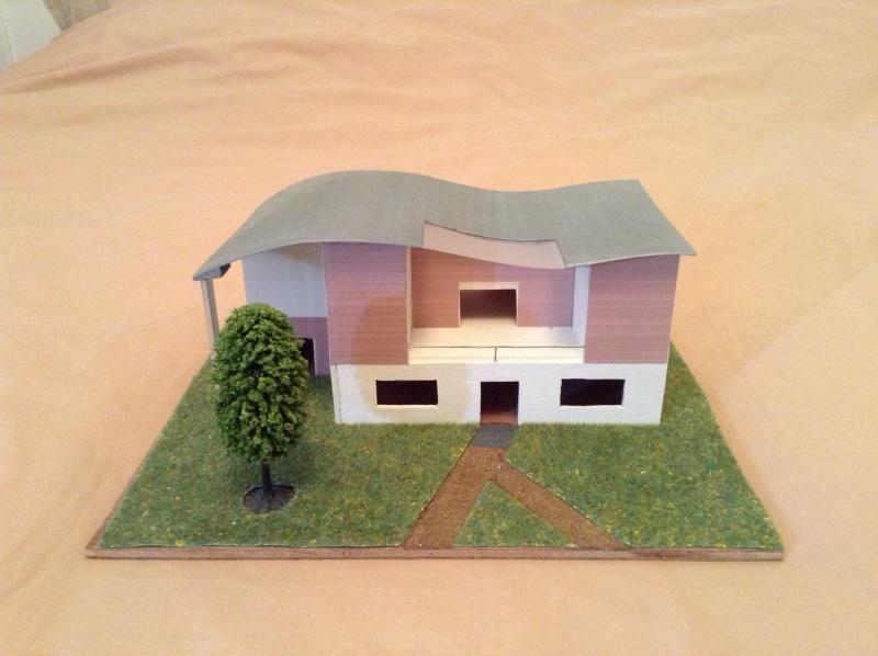 Présentation de ma première maquette de maison moderne 2013-011