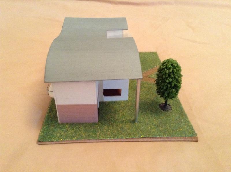 Présentation de ma première maquette de maison moderne 2013-013