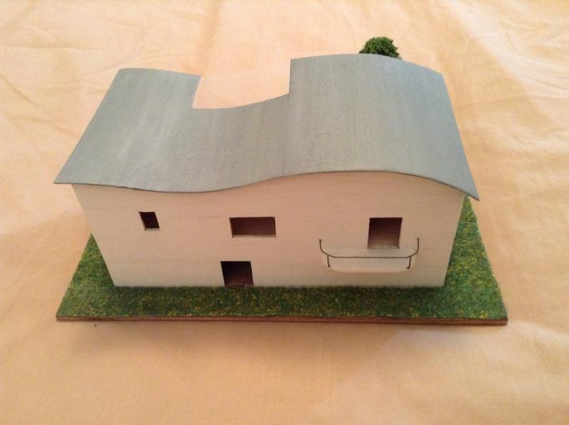 Présentation de ma première maquette de maison moderne 2013-014