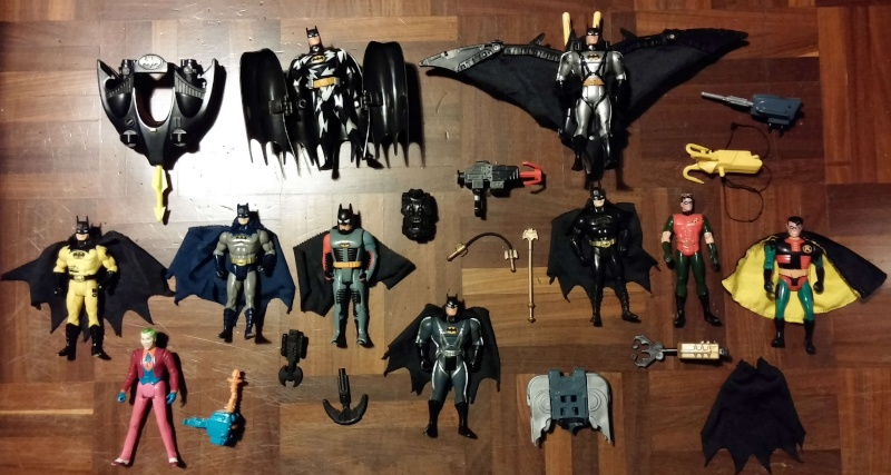 Batman - 10 action figure e 2 aerei 00011