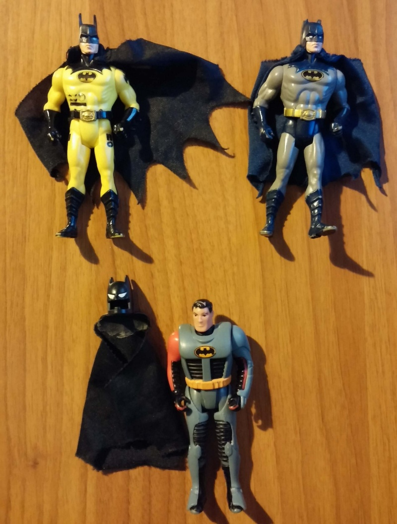 Batman - 10 action figure e 2 aerei 00111