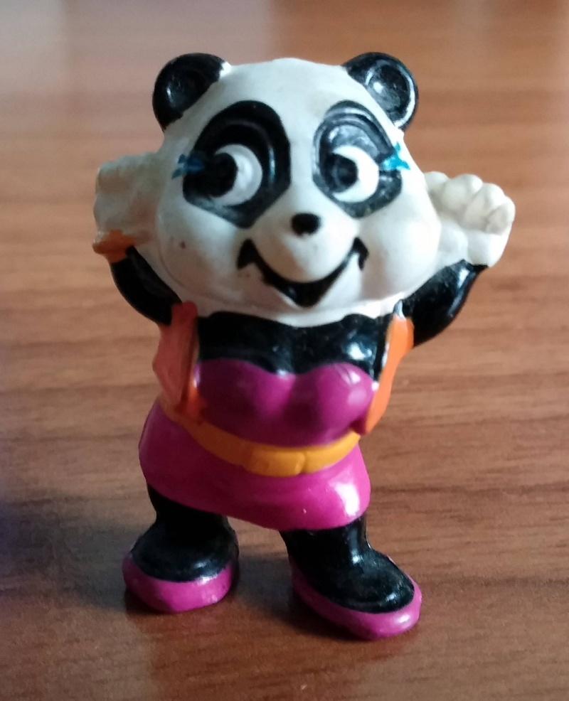 Sorprese kinder : serie anni '90 (75 personaggi) Panda_10