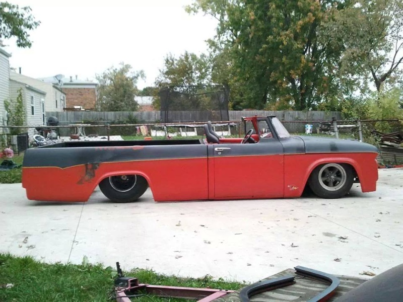 How about some pics of bagged sweptline dodge trucks Dan_ho10