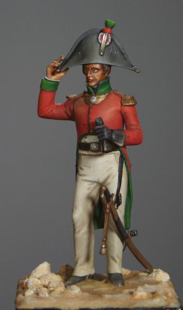Ma dernière figurine: Officier en Egypte, figurine MM. Img_5511