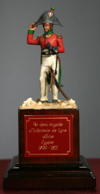 Ma dernière figurine: Officier en Egypte, figurine MM. Img_5518