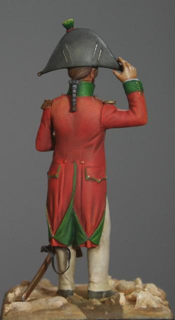 Ma dernière figurine: Officier en Egypte, figurine MM. Img_5519