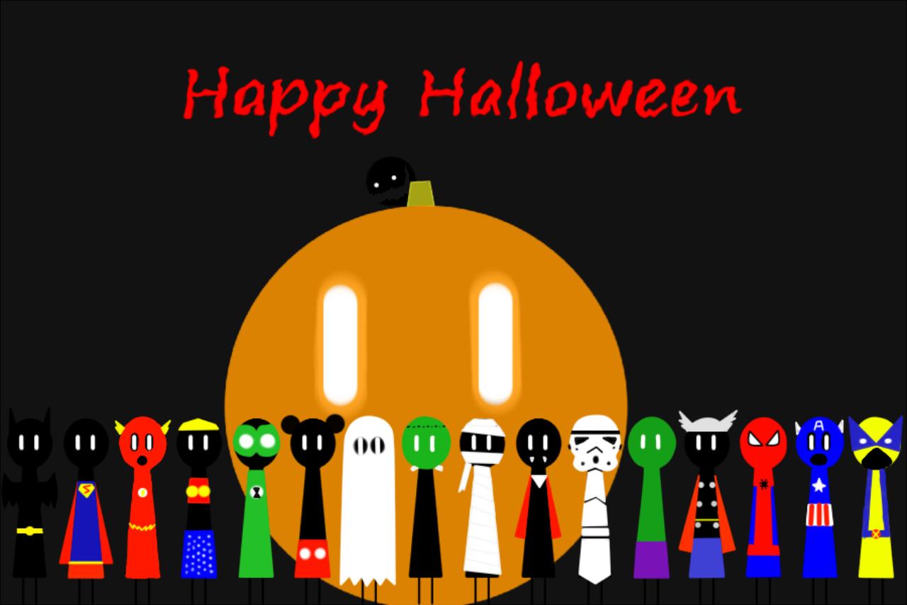 A very Denizen Halloween - Wallpaper. Theden10