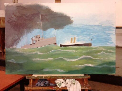 hobby peinture - Peinture maritime : nouveau hobby ? 00110