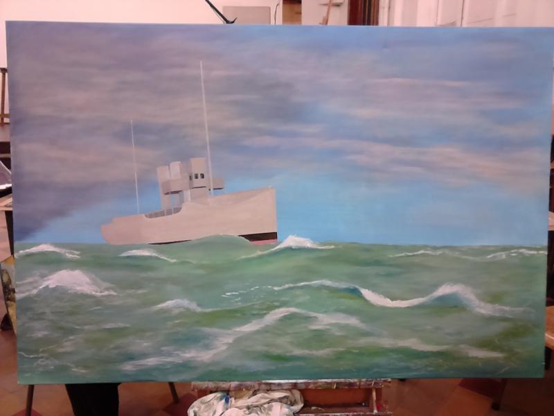 hobby peinture - Peinture maritime : nouveau hobby ? 02110