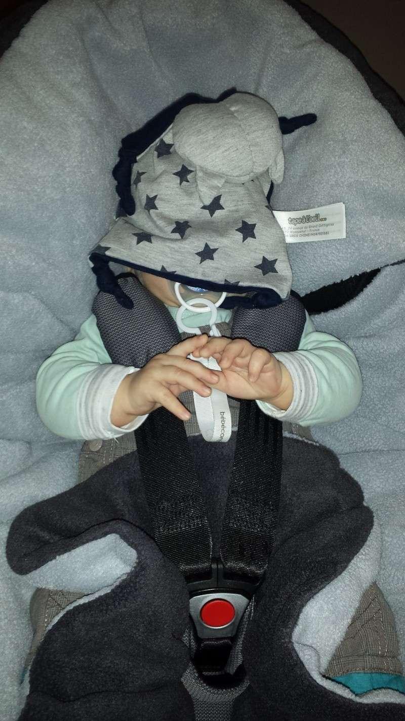 Couverture Babynomade ByBUM et probleme fixation cosy avec ceinture de sécurité 20141015