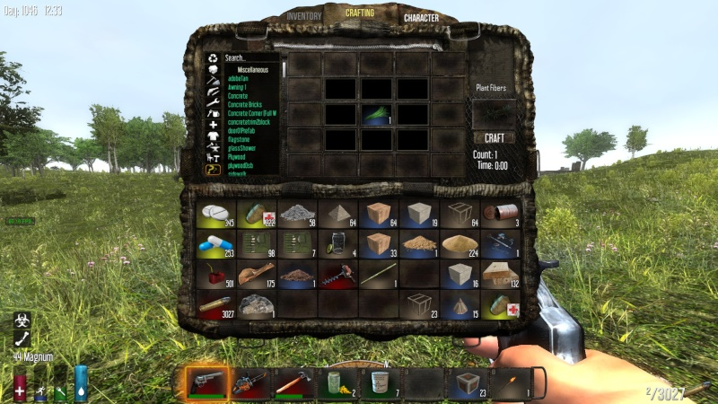 First step: How to craft a stone axe !!!!!! 2014-121