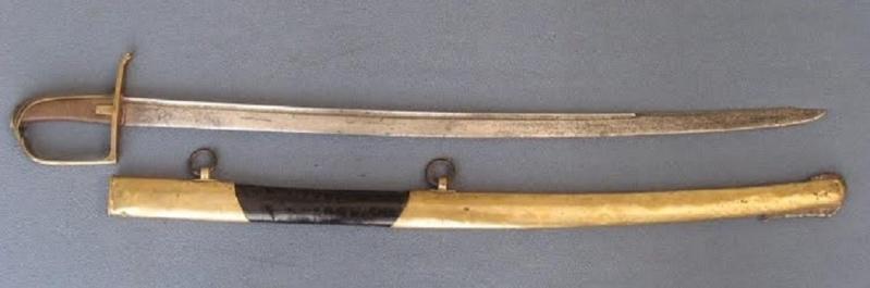 Sabre de Hussard, Fin XVIIIeme siecle ? 1780-114