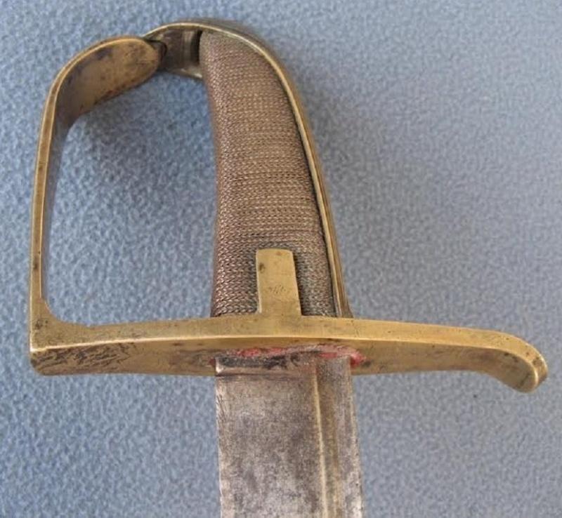Sabre de Hussard, Fin XVIIIeme siecle ? 1780-115