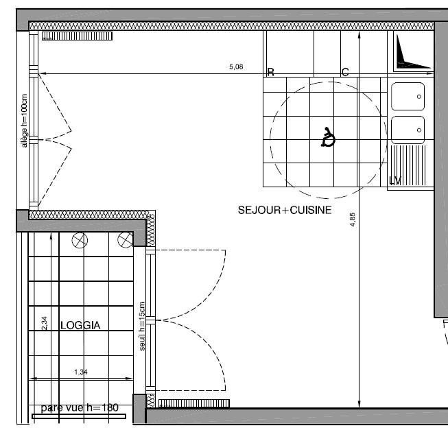 Aménagement séjour/cuisine nouvel appartement Plann_10