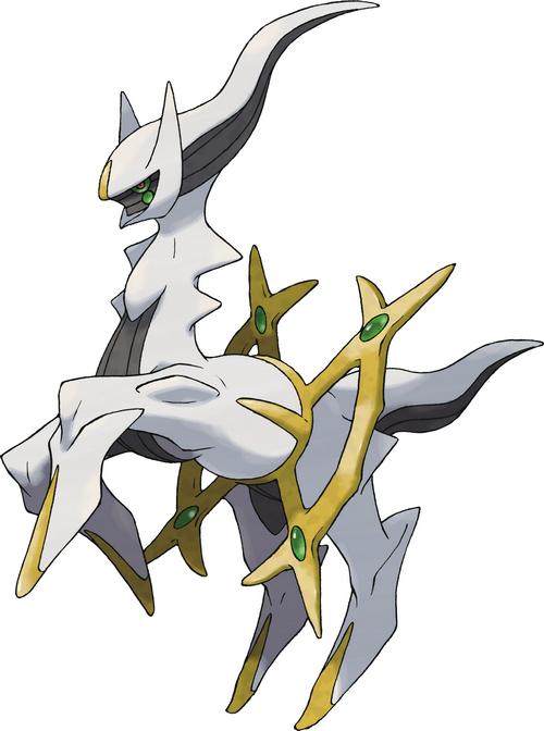Arceus, 493e Pokémon, le Tout sorti de Rien 493arc10