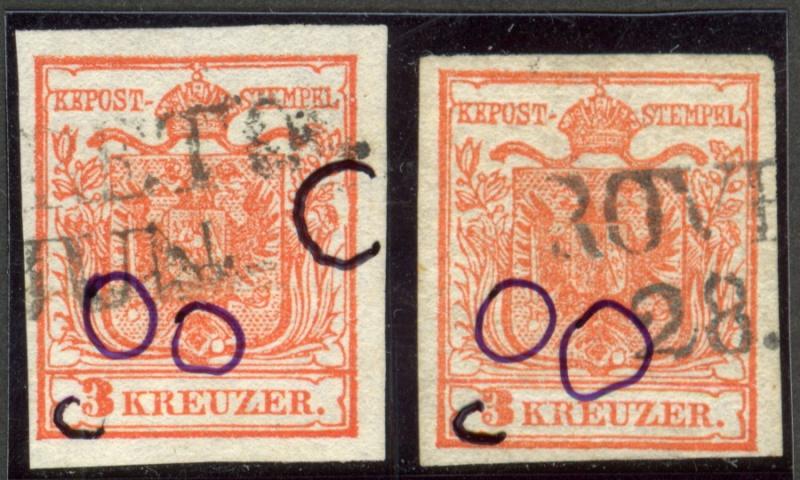 Die erste Österreichische Ausgabe 1850 - Seite 4 Negati11