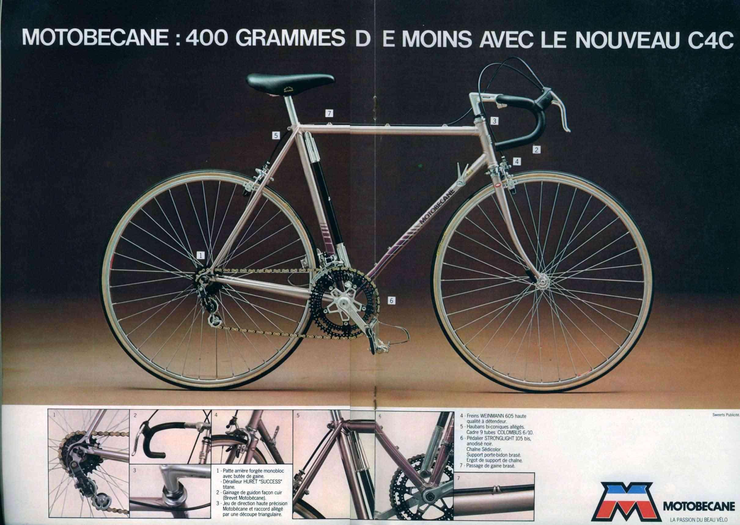 Motobecane C4C 78 bleu N36_p511