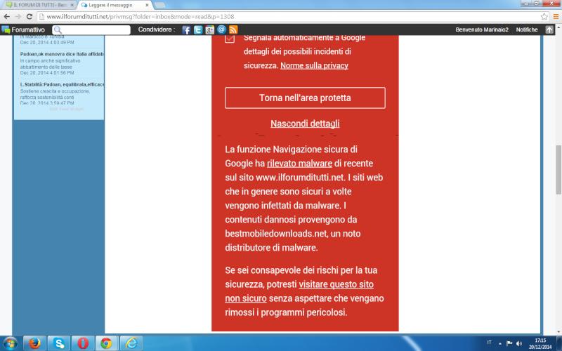 Malware nel mio sito? Fax210