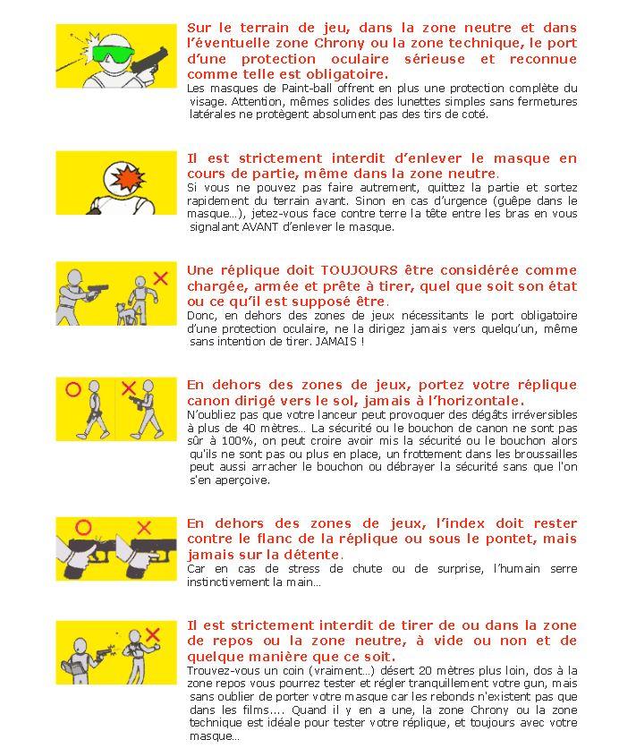 Comportement et sécurité Regles10
