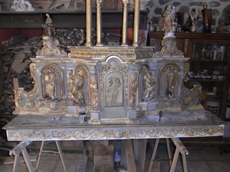 restauration d'un retable XVIIIè Rimg0021